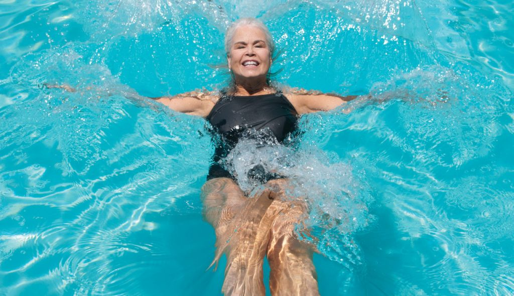 With my arm still broken, I find myself dreaming of being weightless  in water. WBM File Photo.