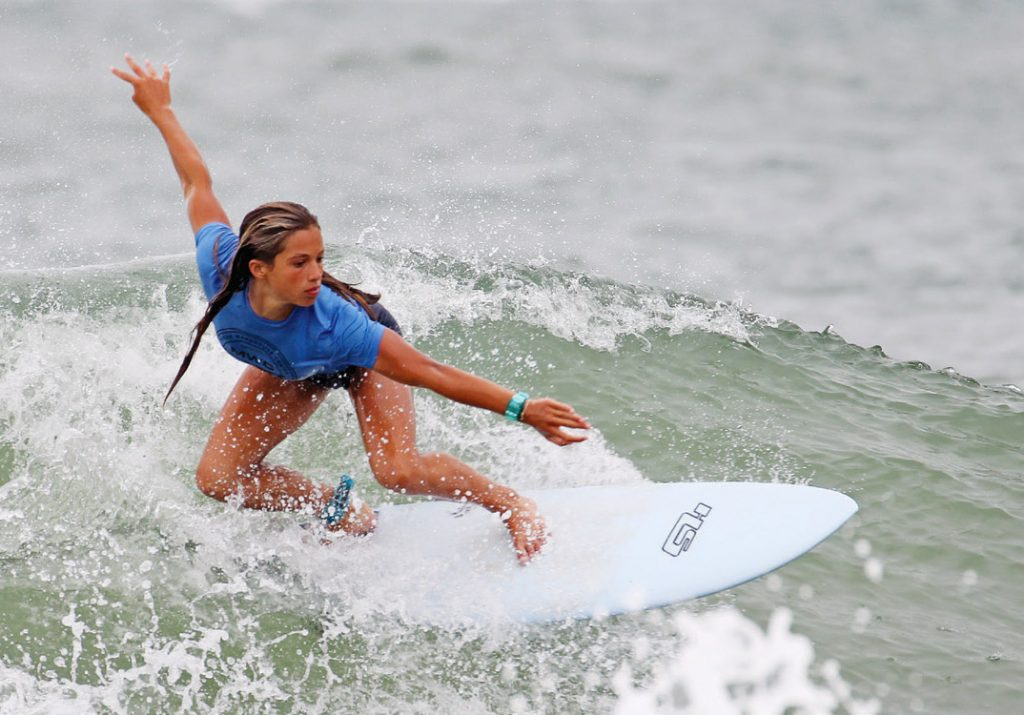 Female surfers of all ages will take to the water for the Wahine Classic, a Wrightsville Beach staple, on Aug. 15 and 16 this year. | Ed Potter