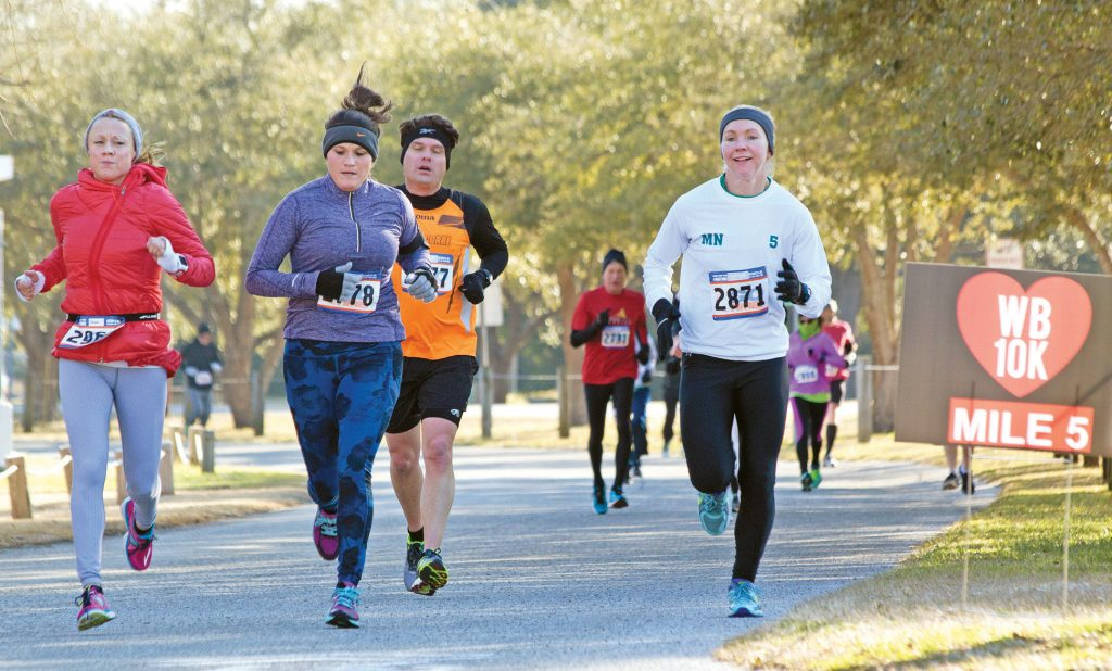 The Wrightsville Beach Valentine Run offers several race options to suit all ages and skill levels. WBM file photo