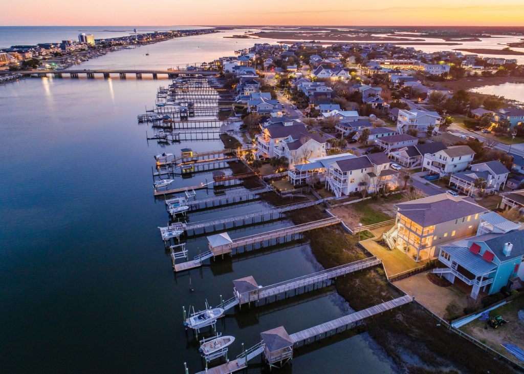 The 302 N. Channel Drive home in Wrightsville Beach placed No. 26 in New Hanover County's top sales. Landmark Sotheby's International Realty