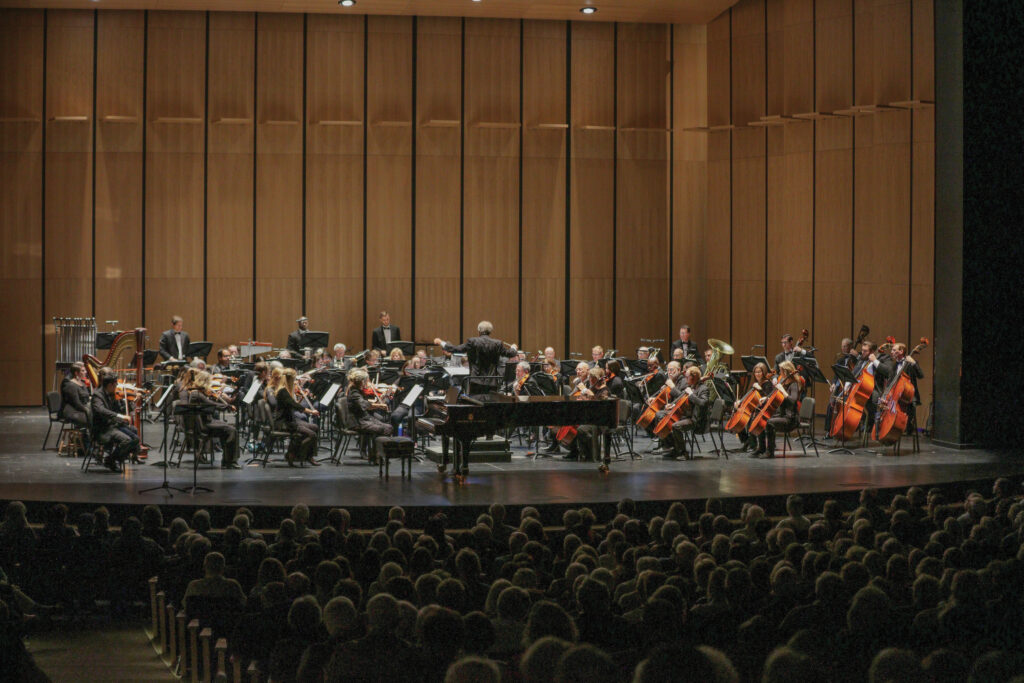 The WSO performs at the Wilson Center in downtown Wilmington. Photo courtesy of WSO